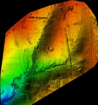Drone-terrain-modelling